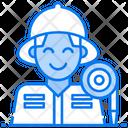 Mechanic Welder Ironsmith Icon