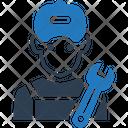 Mechanic Avatar Plumber Icon