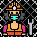 Mechanic Job Occupation Icon