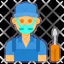 Mechanic Avatar Mask Icon