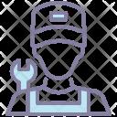 Mechanic Character Avatar Icon