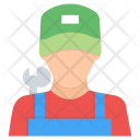 Mechanic Character Avatar Icon