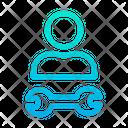 Engineer Service Garage Icon