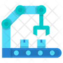Machine Mechanic Arm Robotic Hand Icon