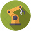 Mechanic Arm Robot Hand Automation Icon