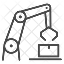 Mechanic Arm Robot Robo Icon