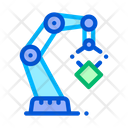 Mechanic Robot Transportation Icon