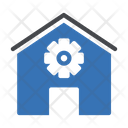 Workshop Gears Cogs Icon