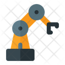 Mechanical Arm Mechani Hydraulic Arm Icon