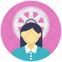 Female Engineer Avatar Icon
