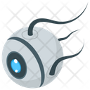 Mechanical Robot Eye Iris Mechanical Eye Icon