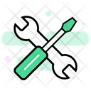 Service Tools Technical Service Settings Icon