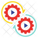 Mechanism System Play Icon