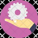 Mechanism Service Installation Icon