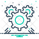Gear Mechanism Development Icon