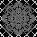 Mechanism Engineering Gear Icon