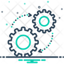 Mechanism Gear Process Icon