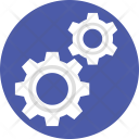 Mechanism Gears Cogs Icon