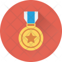 Star Medal Award Icon