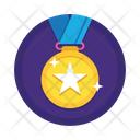 Medal Gold Medal Achievement Icon