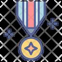 Veteran Army Badge Icon
