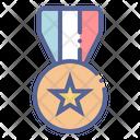 Law Honor Ribbon Icon
