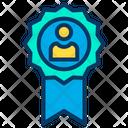 Achievement Medal Award Icon