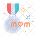 Mom Medal Best Icon