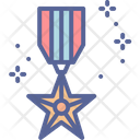 Day Medal Honor Icon