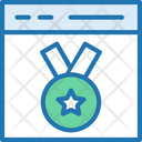 Clean Code Medal Code Icon
