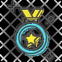Medal Position Medal Star Medal Icon