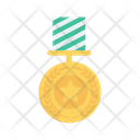 Medal Star Badge Icon