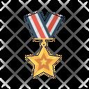 Medal Ribbon Star Icon