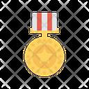 Medal Reward Goal Icon