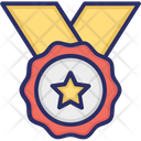 Medal Achievement Badge Icon
