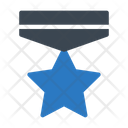 Trophy Medal Badge Icon
