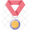 Medal Win Basketball Icon