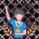 Medal Achievement Champion Icon