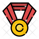 Medal Champion Prize Icon
