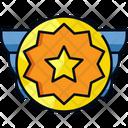 Medal Ribbon Reward Icon