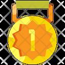 Medal Ribbon Badge Icon