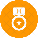 Medal Honor Badge Icon