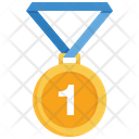 Winner Win Medal Icon