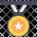 Medal Star Medal Star Pendant Icon