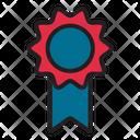 Achievement Award Medal Icon