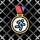 Medal Runner Award Icon