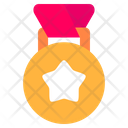Winner Gold Medal Sports Icon