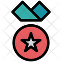 Medal Badge Star Icon