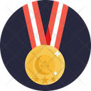Bowling Medal Skittles Icon