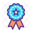 Medal Ribbon Patriot Icon